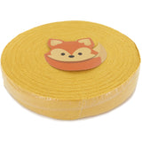 T-Shirt Yarn Lightweight Fabric Disc - MUSTARD