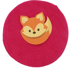 T-Shirt Yarn Lightweight Fabric Disc - FUCHSIA