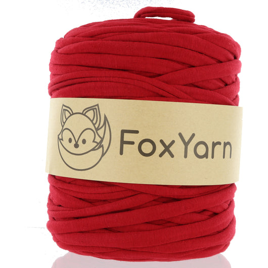T-Shirt Yarn - Scarlet Red