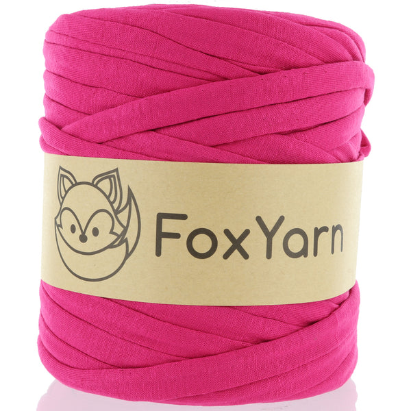 T-Shirt Yarn - Barbie Pink