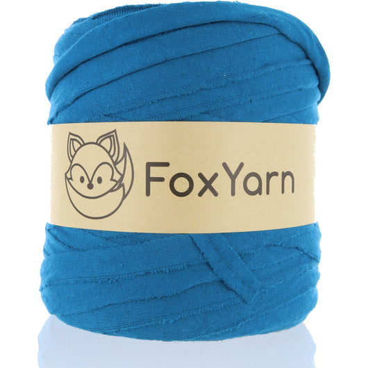 T-Shirt Yarn - Christmas Island Blue