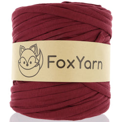 T-Shirt Yarn - Blood Red