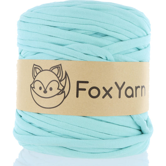 T-Shirt Yarn - Diamond Cut Blue