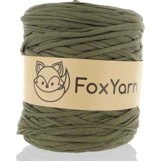 T-Shirt Yarn - Light Camo Green