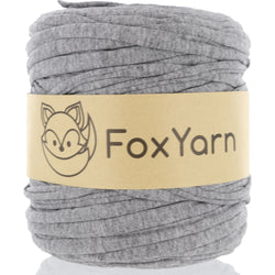 T-Shirt Yarn - Aluminum Grey