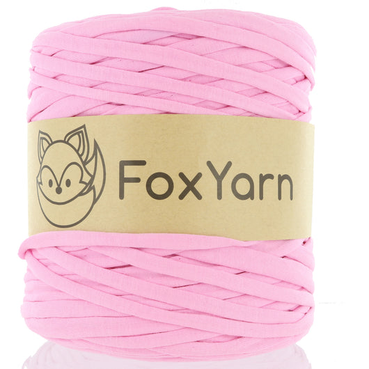 T-Shirt Yarn - Flamingo Pink