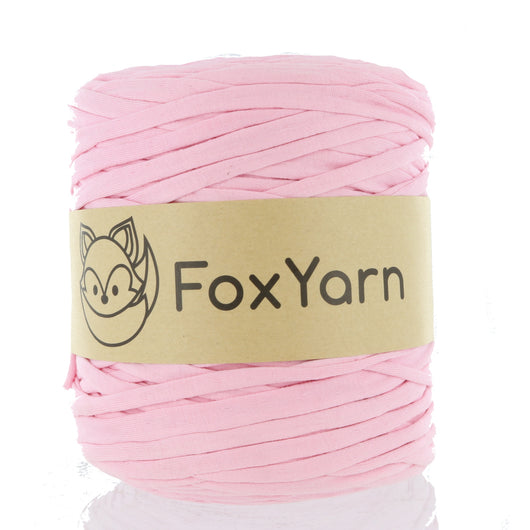 T-Shirt Yarn - Cotton Candy Pink
