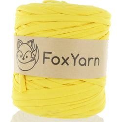 T-Shirt Yarn - Smiley Face Yellow