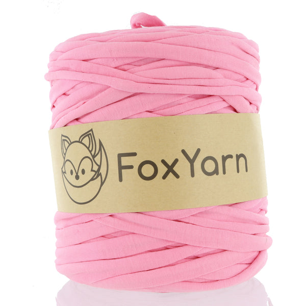 T-Shirt Yarn - Bubble Gum Pink