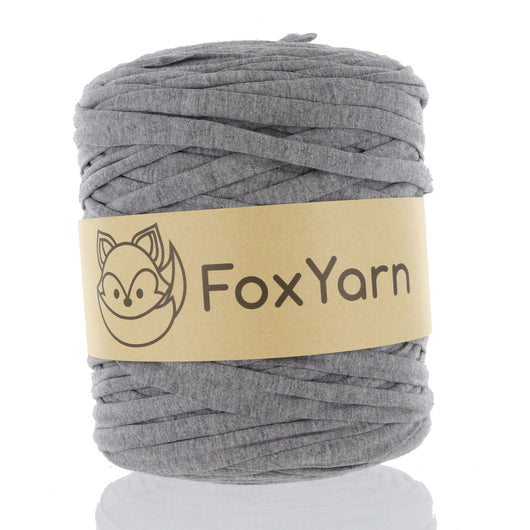 T-Shirt Yarn - Nickel Grey