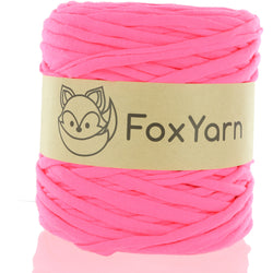T-Shirt Yarn - Highlighter Pink