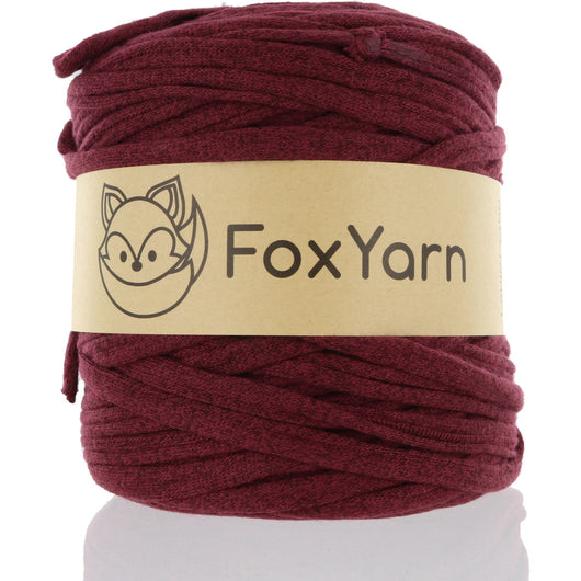 T-Shirt Yarn - Red Wine