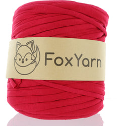 T-Shirt Yarn - Raspberry Red