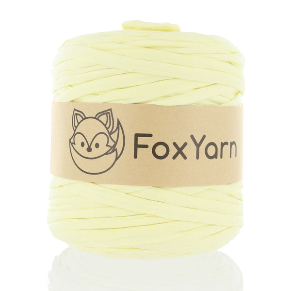 T-Shirt Yarn - Parmesean Yellow