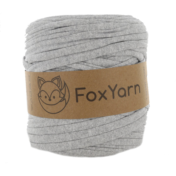 T-Shirt Yarn Virgin - LIGHT GREY