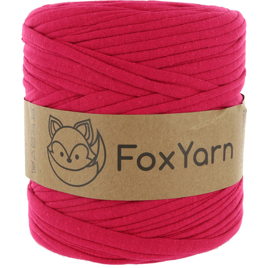 T-Shirt Yarn Virgin - MEDIUM FUCHSIA