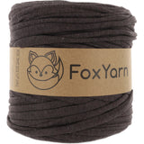 T-Shirt Yarn Virgin - DARK BROWN
