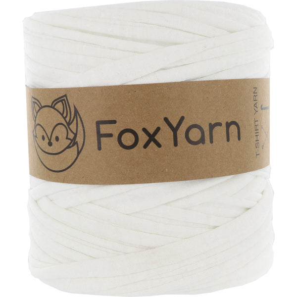 T-Shirt Yarn Virgin - WHITE