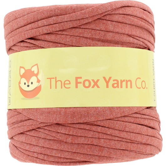 T-Shirt Yarn Virgin - DARK RED (RUST)