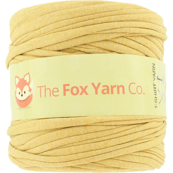 T-Shirt Yarn Virgin - MUSTARD