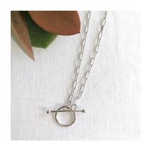 Load image into Gallery viewer, Stevie Pendant / Choker Silver