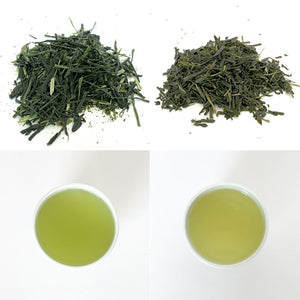 [Bundle] Sencha - Okumidori Cultivar (Light Steamed & Deep Steamed)