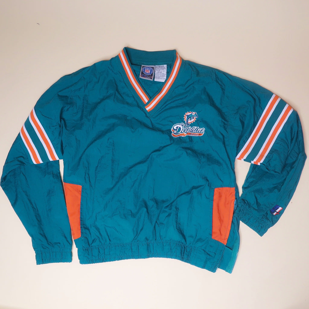Vintage Miami Dolphins Windbreaker - Everyday in Retrograde