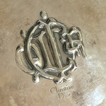 Vintage Christian Dior Silver Plated Dish - Everyday in Retrograde