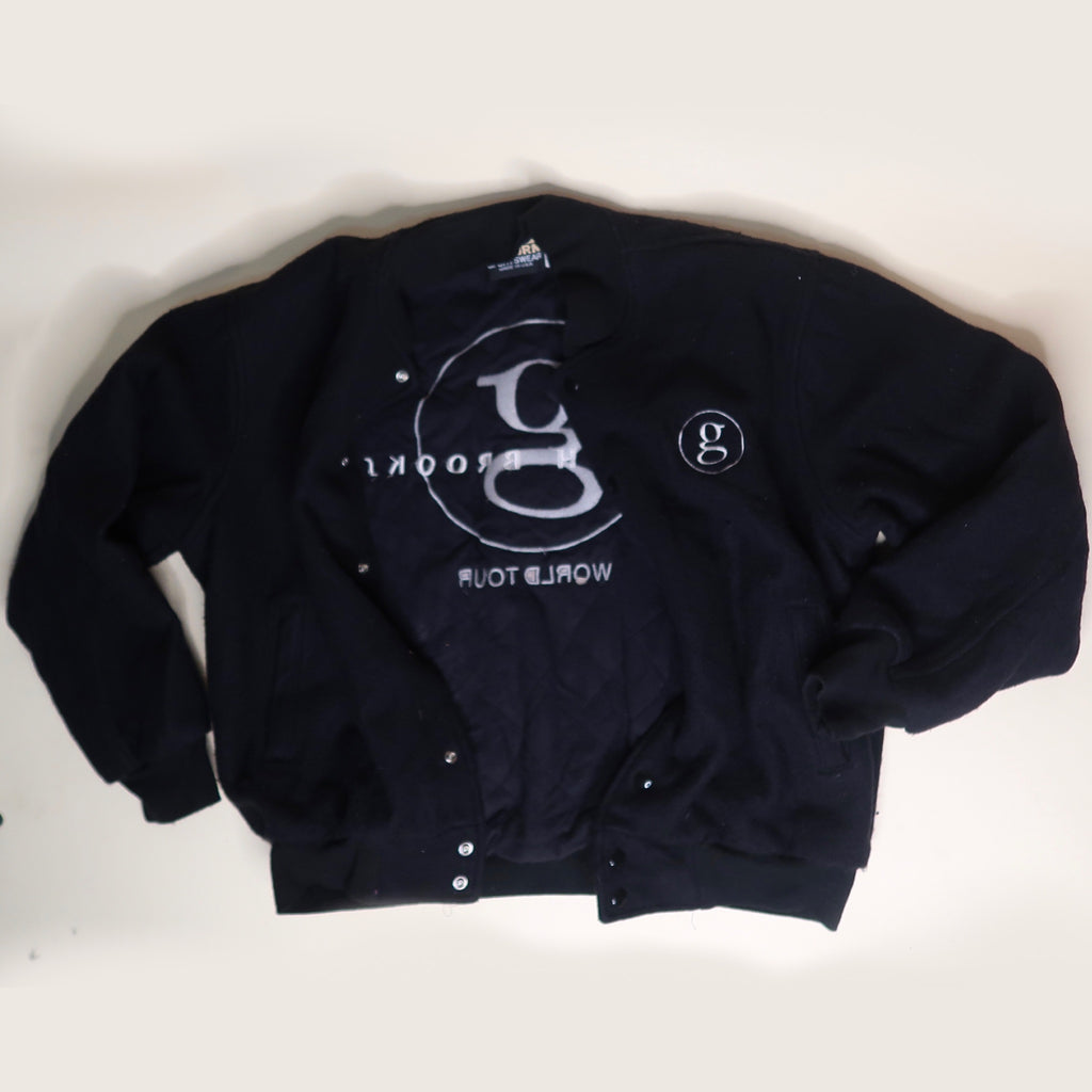 Vintage 90s Garth Brooks World Tour Varsity Jacket - Everyday in Retrograde