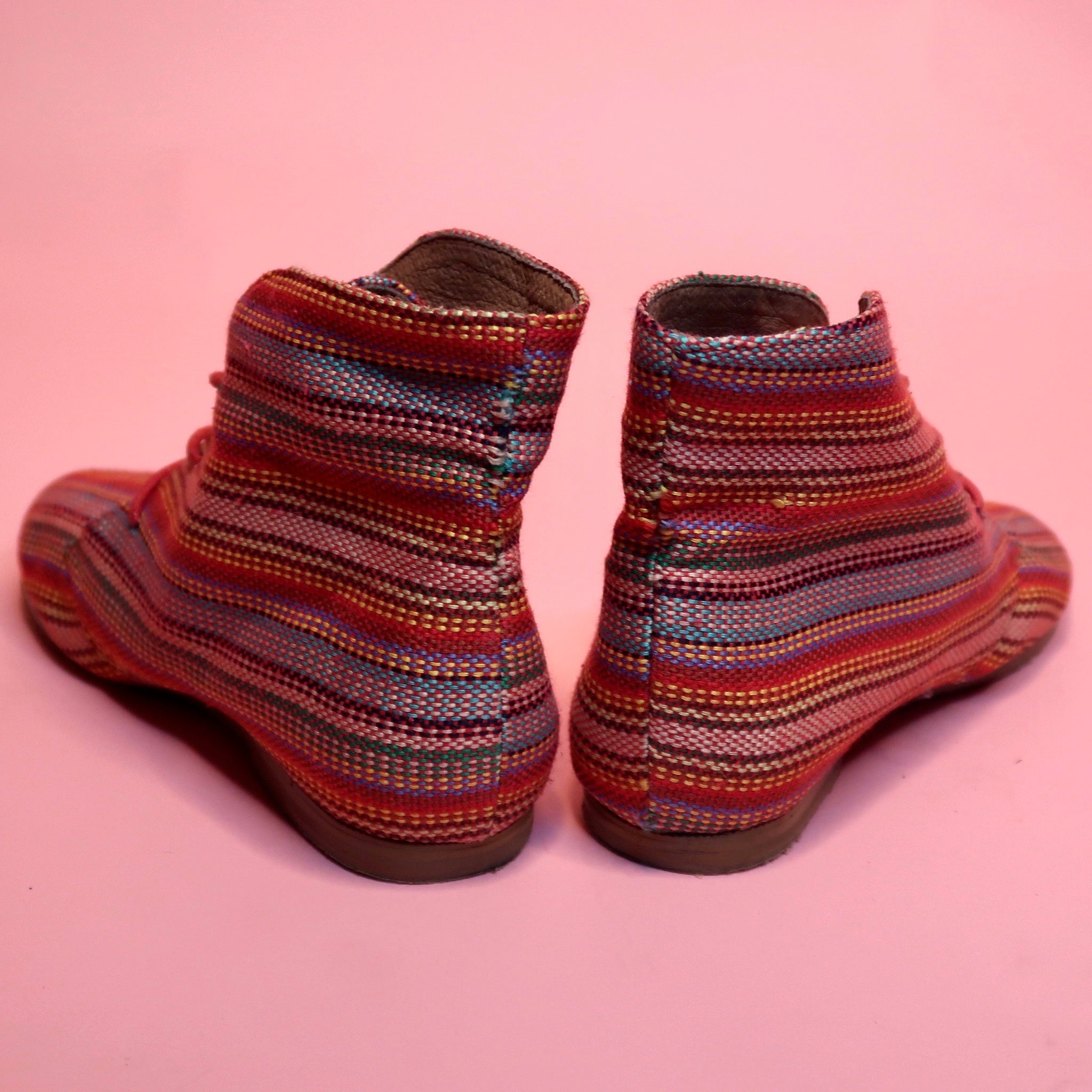 Jeffrey Campbell Ibiza Coachella Multi-Colored Booties - Everyday in Retrograde