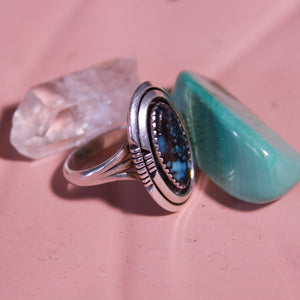 Silver Gemstone Ring - Everyday in Retrograde