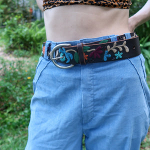 Fossil Embroidered Belt - Everyday in Retrograde