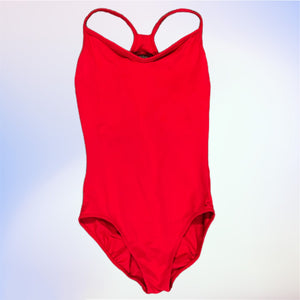So Danca Red Camisole Leotard - Everyday in Retrograde