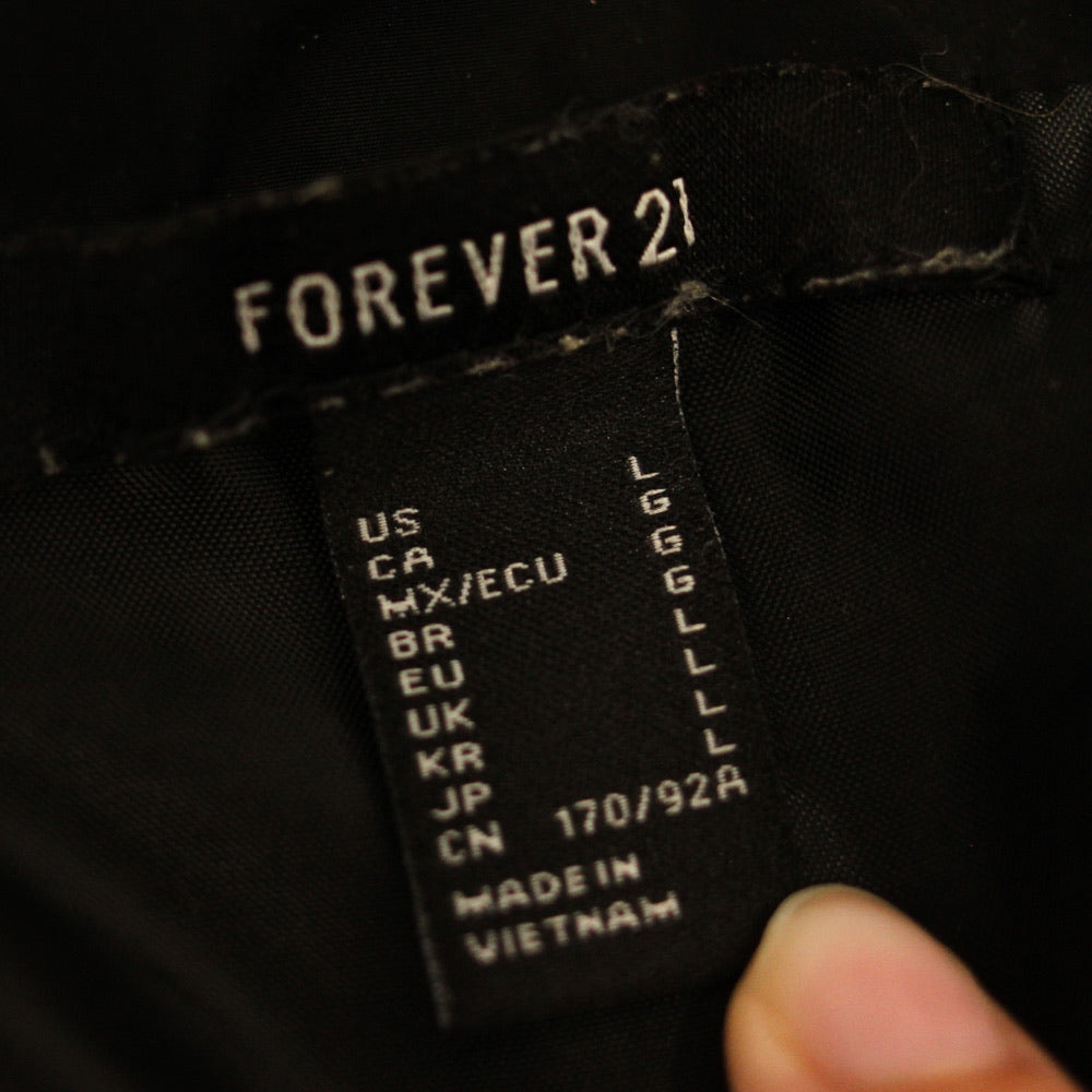Forever 21 Windbreaker - Everyday in Retrograde