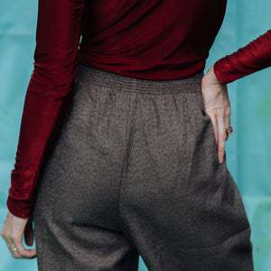 Allison Daley Brown Straight-Leg Pants - Everyday in Retrograde