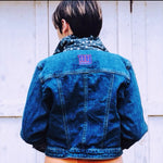 Authentic NFL NY Giants Denim Jacket Sample - Everyday in Retrograde