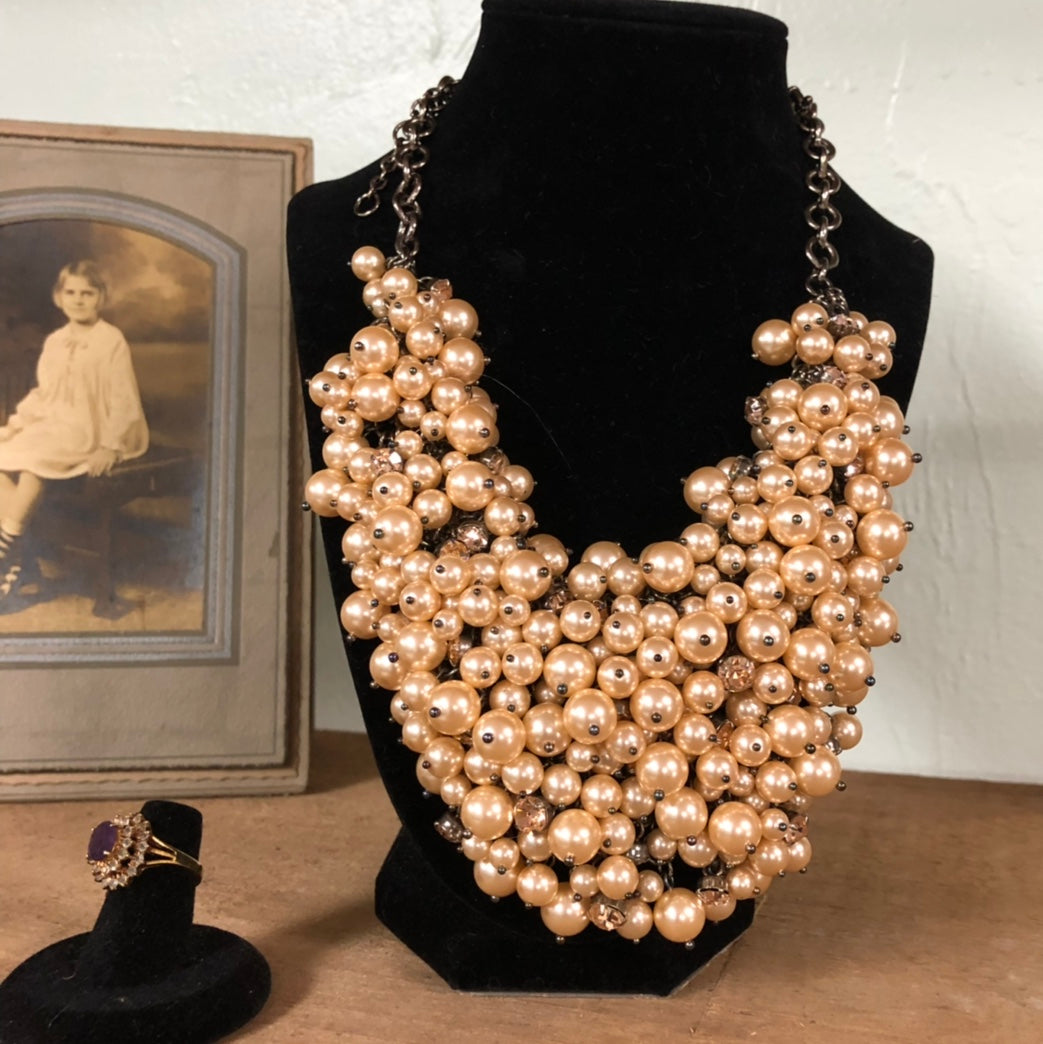 Pearl Statement Necklace - Everyday in Retrograde