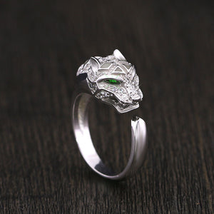 Exquisite Leopard Diamonds CZ Ring