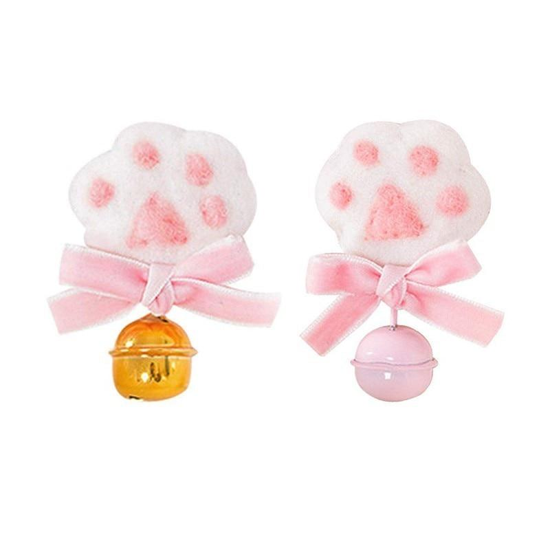 Cat Paw Jingle Bell Hair Clip hair clip