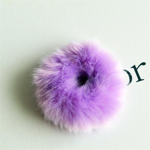 Faux Fur Hair Band accessory C7 China
