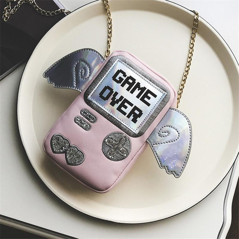 GAME OVER Purse bags