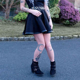 Gothic Hollow Hoop Skirt skirt
