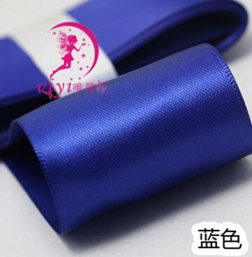 Kawaii Bow Pig Tail Clips Hair accessory Navy Blue 1 Pair