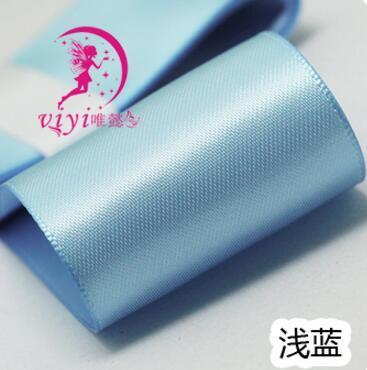 Kawaii Bow Pig Tail Clips Hair accessory Sky Blue 1 Pair