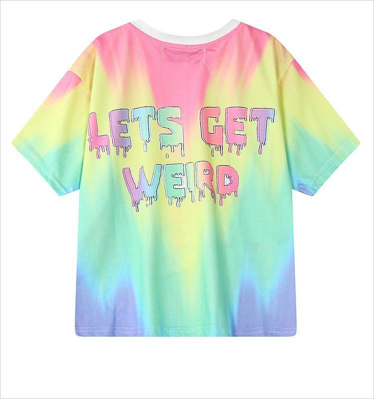 Lets Get Weird T Shirt top
