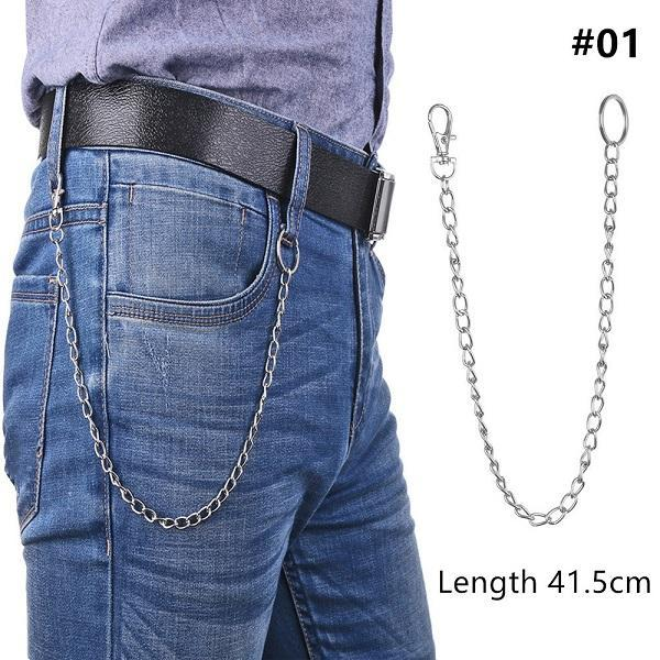 Long Metal Pant Keychain accessories 01