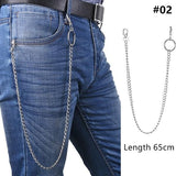 Long Metal Pant Keychain accessories 02