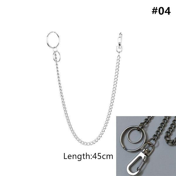 Long Metal Pant Keychain accessories 04