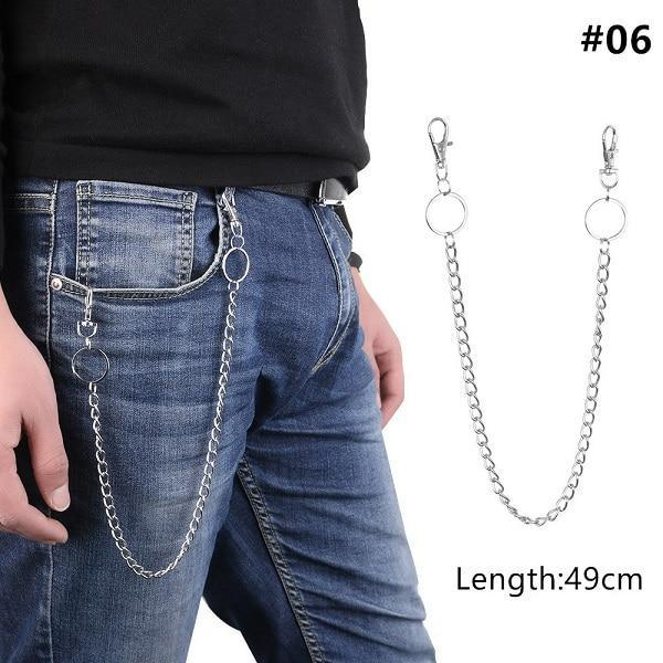 Long Metal Pant Keychain accessories 06