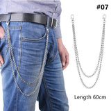 Long Metal Pant Keychain accessories 07